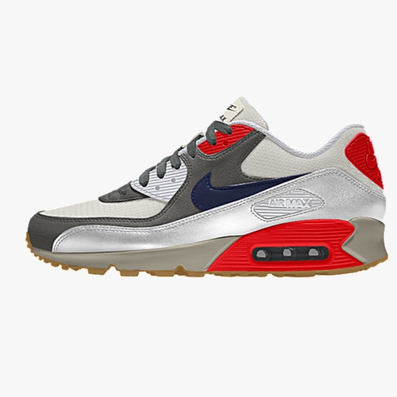 Nike air Max 90 by you ID high top size 8 men's